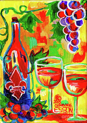 Painting - Summer Wine by Genevieve Esson