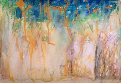 Painting - Summer Woodland  by Judith Desrosiers