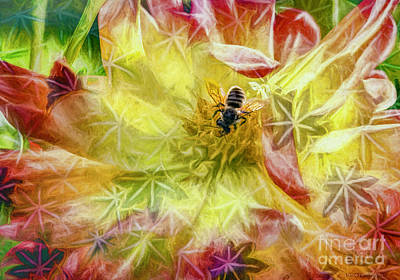 Photograph - Summer Work by Jean OKeeffe Macro Abundance Art