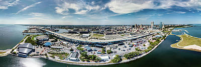 Photograph - Summerfest Panorama by Randy Scherkenbach