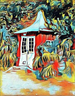Mixed Media - Summerhouse by Susanne Baumann