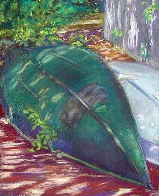 Summerime Overturned Art Print by Katherine  Berlin