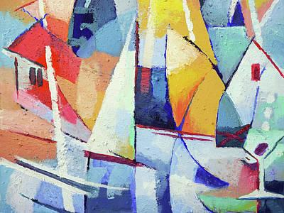 Painting - Summerjoy by Lutz Baar