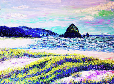 Painting - Summers At Cannon Beach by Eryn Tehan