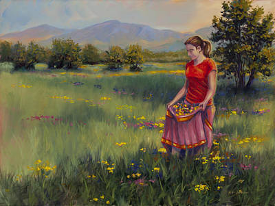 Painting - Summers Bounty by Kurt Jacobson