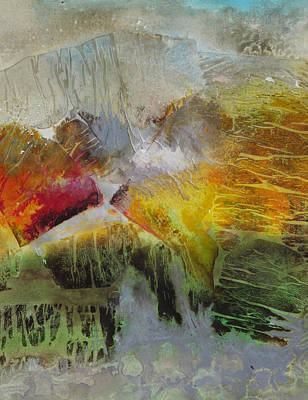 Painting - Summers End # 2 by Marilyn Woods