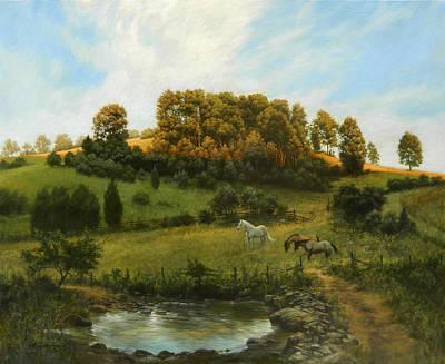 Summers End Original by David Henderson