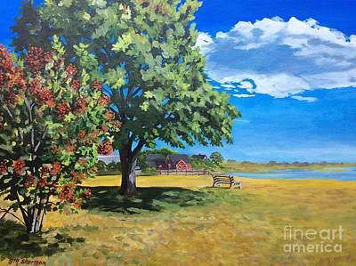 Painting - Summer's End In Biddeford At Biddeford  Pool by Stella Sherman