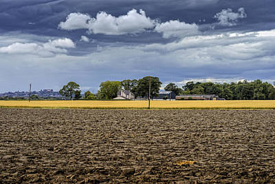 Photograph - Summer's End In Central Scotland by Jeremy Lavender Photography