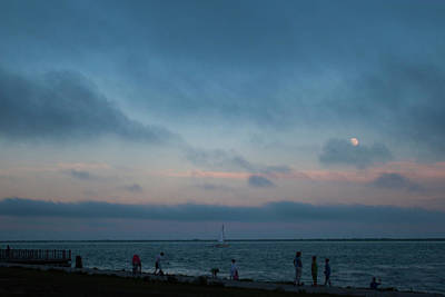 Photograph - Summer's Eve At The Bay. by Steve Gravano