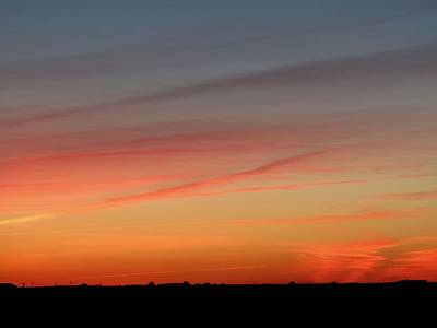 Photograph - Summers Eve Sunset by Kyle West