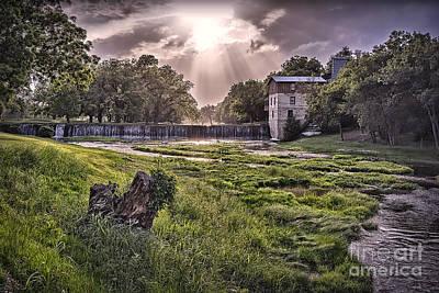 Photograph - Summers Mill 2015 C by Walt Foegelle