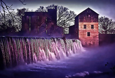 Photograph - Summers Mill Sunrise 1975 A by Walt Foegelle
