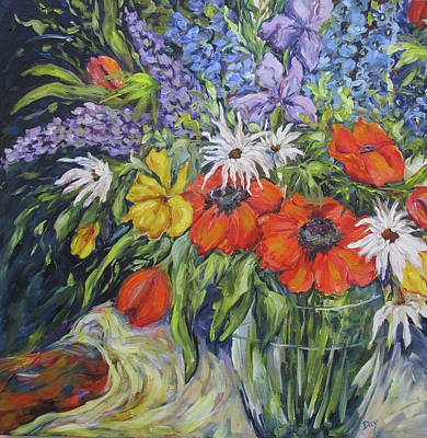 Painting - Summer,s Parade by Nancy Day