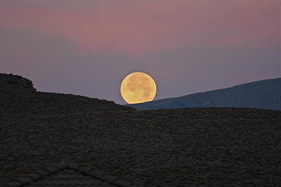 Photograph - Summers Super Moon Two by Patricia Haynes