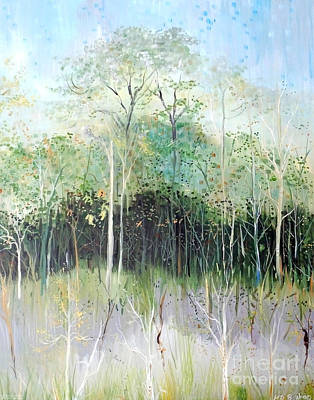 Painting - Summers Woods by Lizi Beard-Ward
