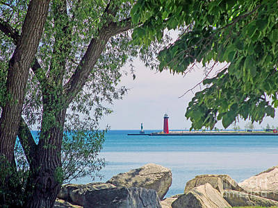 Photograph - Summertime Along Lake Michigan by Kay Novy