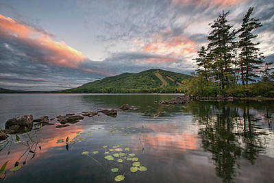 Photograph - Summertime At Pleasant Mountain by Darylann Leonard Photography