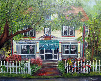 Painting - Summertime At The Black Duck Inn by Loretta Luglio