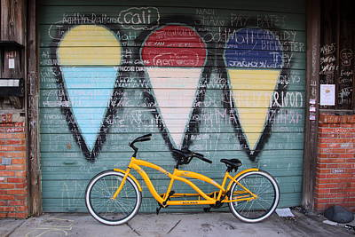 Photograph - Summertime Bike Rentals by Patricia Spicuzza