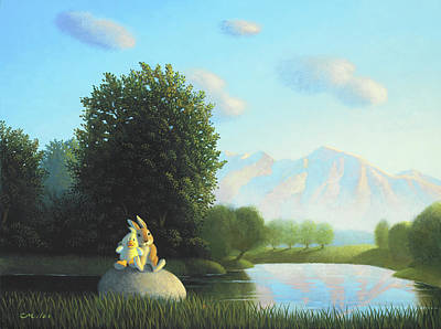 Wall Art - Painting - Summertime by Chris Miles