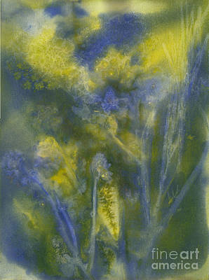 Painting - Summertime Impressions 2 Watercolor by Conni Schaftenaar