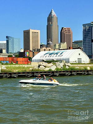 Photograph - Summertime In Cleveland by The Art of Alice Terrill