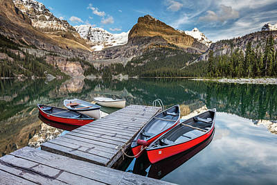 Photograph - Summertime In The Canadian Rockies by Pierre Leclerc Photography