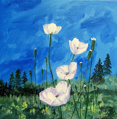 Wall Art - Painting - Summertime by Mary Arneson