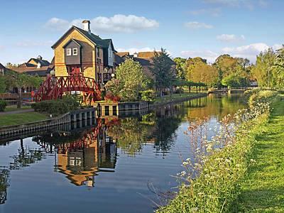 Summertime On The River - Sawbridgeworth Art Print