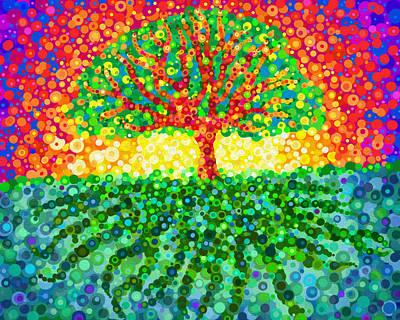 Digital Art - Tree Of Life by Jennifer Allison