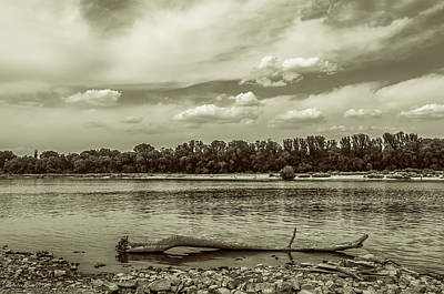 Photograph - Summertime Vistula River In Warsaw by Julis Simo