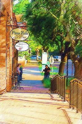 Summerville Sc Art Print by Donna Bentley