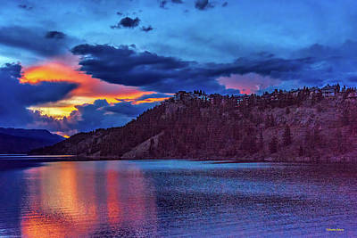Photograph - Summerwood At Summit Cove Sunset by Stephen Johnson
