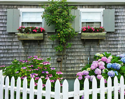 Photograph - Summery Nantucket by Michelle Wiarda