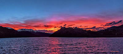 Photograph - Summit Cove And Summerwood Sunset by Stephen Johnson