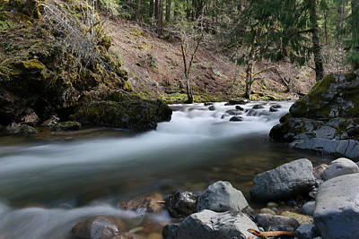Photograph - Summit Creek by Jeff Swan