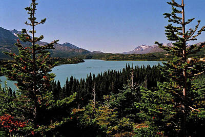 Photograph - Tagish Lake - Yukon by Juergen Weiss