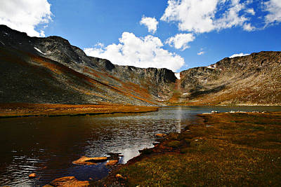 Photograph - Summit Lake Colorado by Marilyn Hunt