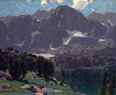 Summit Lake High Sierras Art Print