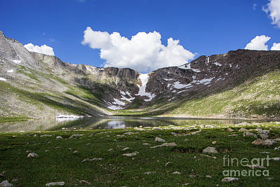 Photograph - Summit Lake by Steven Parker