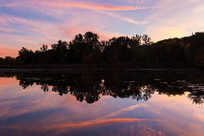 Photograph - Summit Lake Sunset I  by Tim Fitzwater