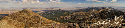 Photograph - Summit View Wheeler Peak Great Basin National Park Nevada by Lawrence S Richardson Jr