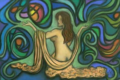 Summoning Brigit Art Print by Natalie Roberts