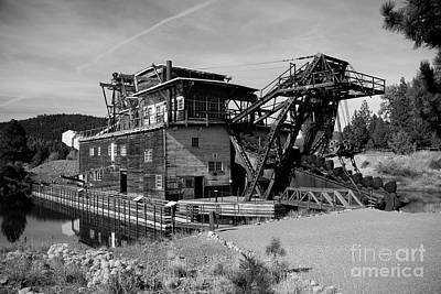 Photograph - Sumpter Mining Dredge by Denise Bruchman