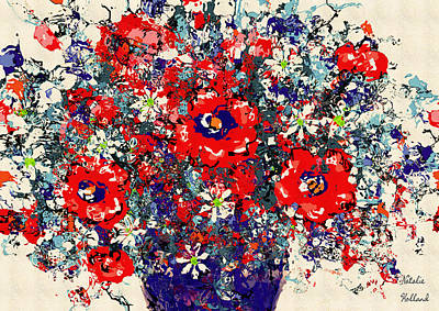 Painting - Sumptuous Bouquet by Natalie Holland