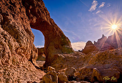 Photograph - Sun And Arch by Rikk Flohr