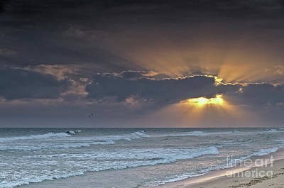 Photograph - Sun And Clouds In Ilha Deserta. Algarve by Angelo DeVal