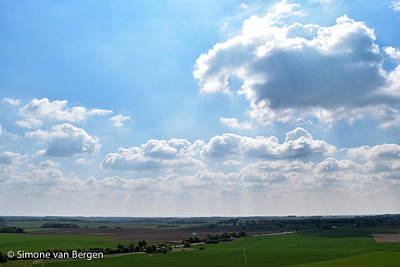 Photograph - Sun And Clouds by Simone Van Bergen