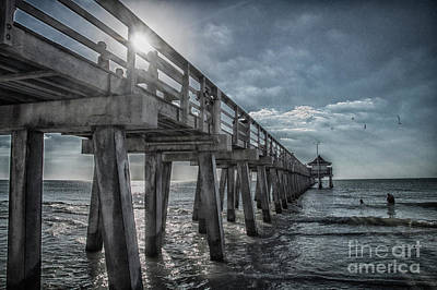 Photograph - Sun And Fun In Naples Florida by Judy Hall-Folde